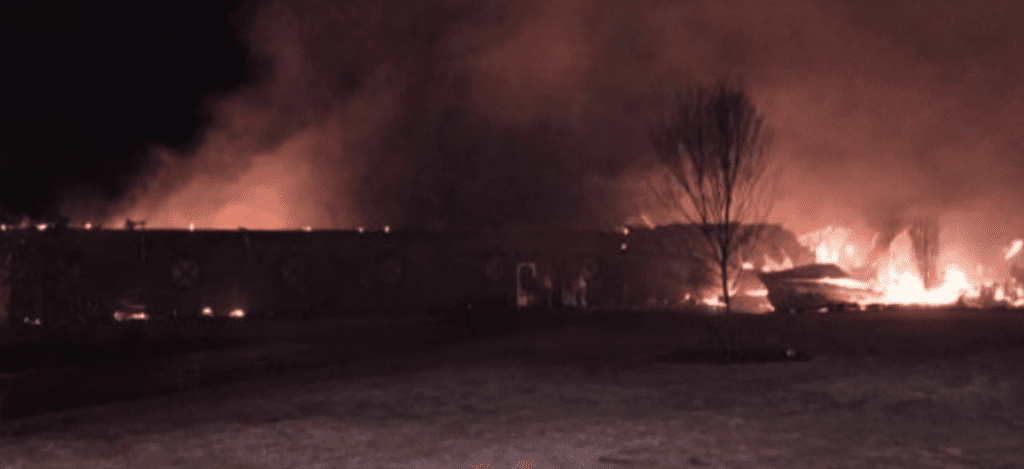 Teen Risks His Life To Save 14 Clydesdales From Barn Fire