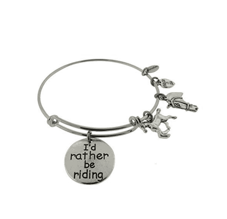 id rather be riding bracelet