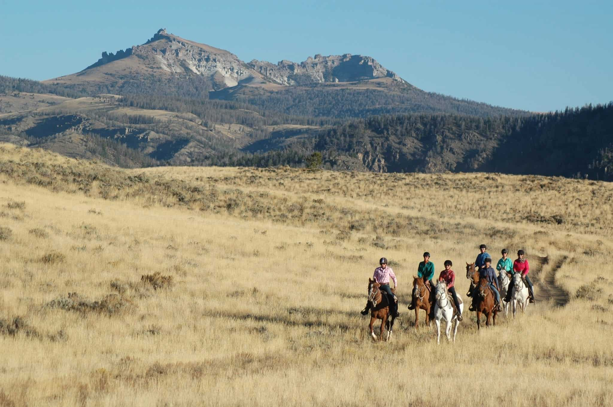 horseback riding vacation
